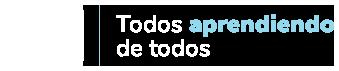 Todos aprendiendo de todos • Convenio Andrés Bello Logo